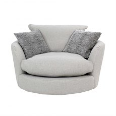 Loft Swivel Cuddler Chair