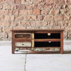 Ratia Upcycled 2 Drawer TV Unit