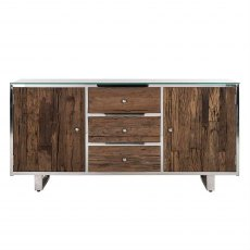 Knightsbridge Sideboard with Glass Top