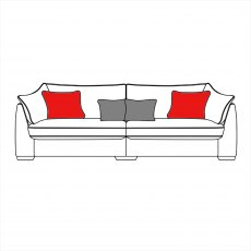 Hanbury 4 Seater Sofa
