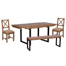 Key West 140cm Dining Table Set