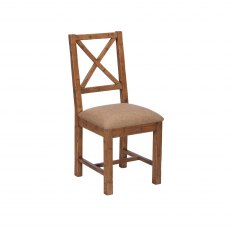 Key West Upholstered X-Back Dining Chair