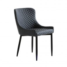 Ontario Dining Chair in Grey PU