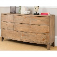 Raffles Eight Drawer Chest