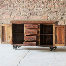 Telford Sideboard on Wheels