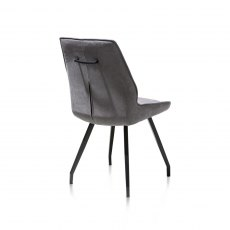 Solo Dining Chair in Anthracite Fabric