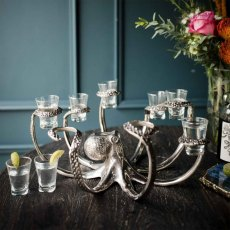 Octopus Eight Shot Glass Holder