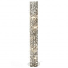 Concentrics Cylindrical Tube Floor Lamp 152cm Tall
