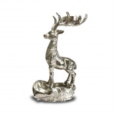 Standing Stag Candle Holder