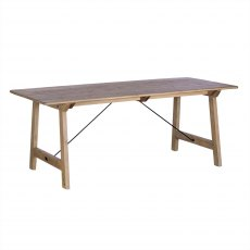 Valencia 200cm Fixed Dining Table