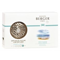 Ocean Breeze Car Diffuser Set by Maison Berger
