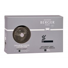 Tobacco Anti-odour Car Diffuser Set by Maison Berger
