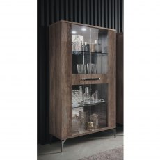 Milano Two Door Curio Cabinet