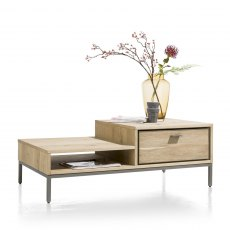 Faneur Coffee Table with Drawer