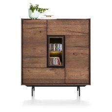 Halmstad 120cm Highboard with LED