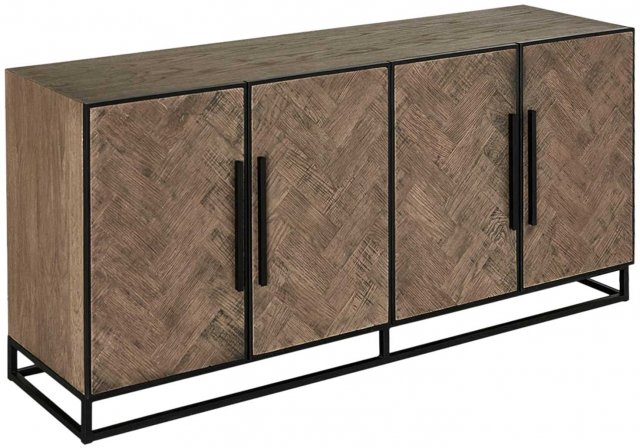 Parquet Four Door Sideboard