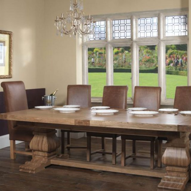 Rustic Monastery 2.5m Extending Dining Table