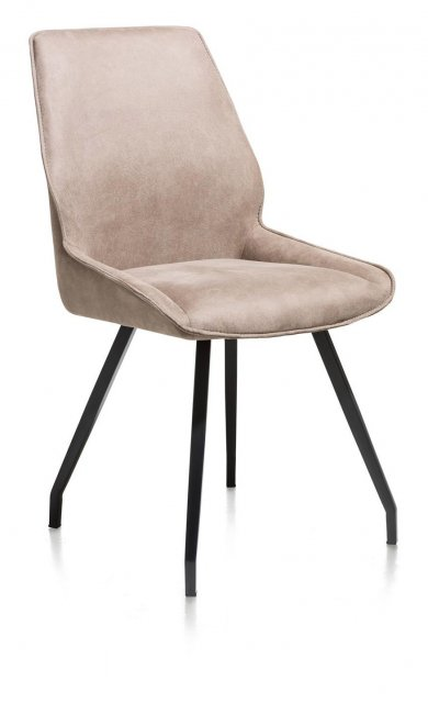 Solo Dining Chair in Taupe Fabric